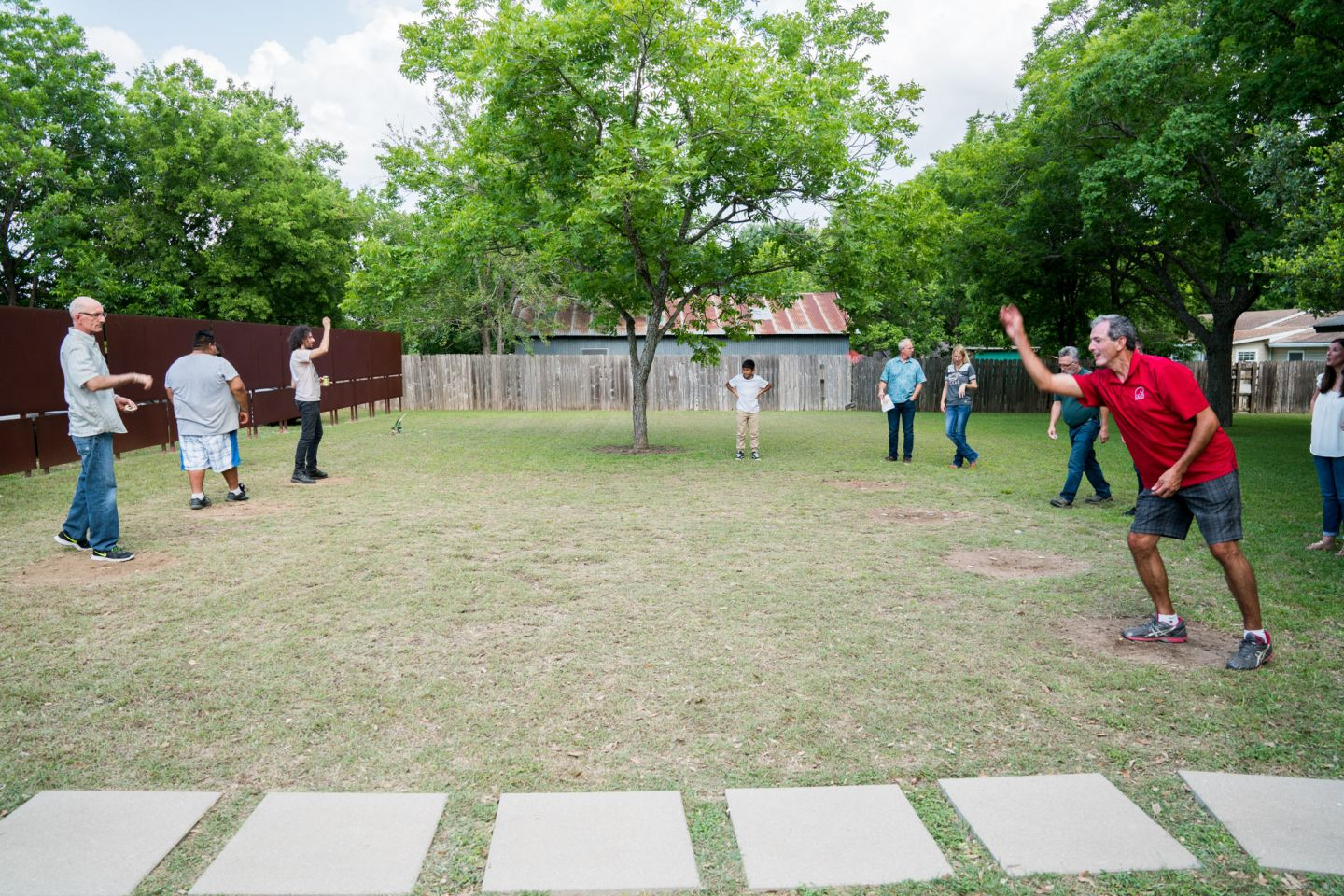 CG&S Employees in Group Activity