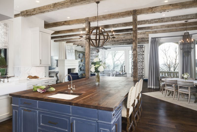 Casual Kitchen French Elegance In Rob Roy