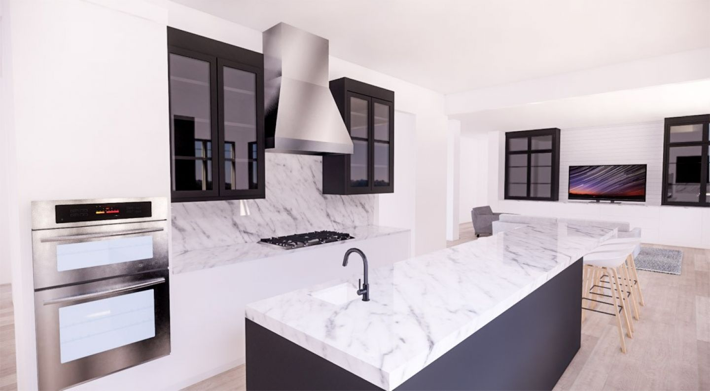 Carrera modernize kitchen