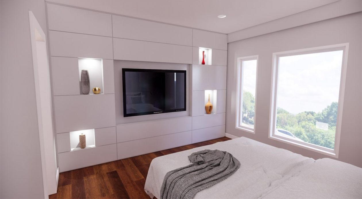 Art display master suite