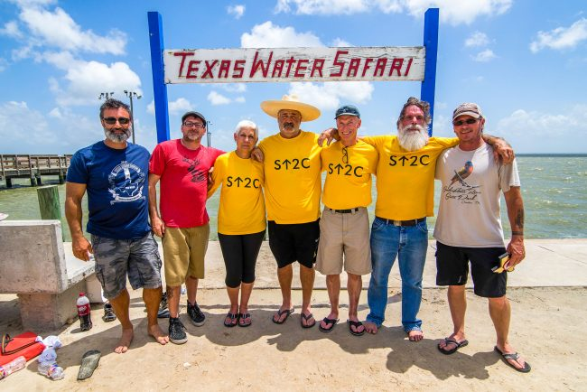 Group Photo at Texas Water Safari