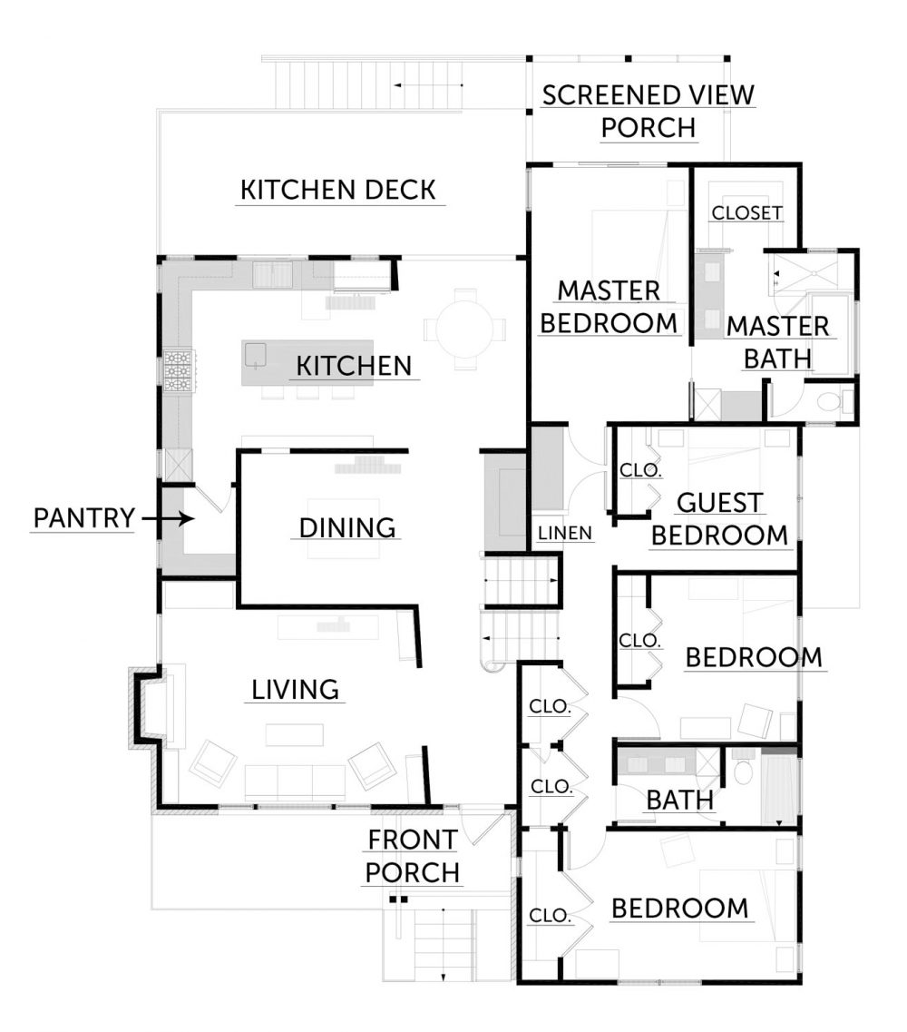 After Upper Floorplan